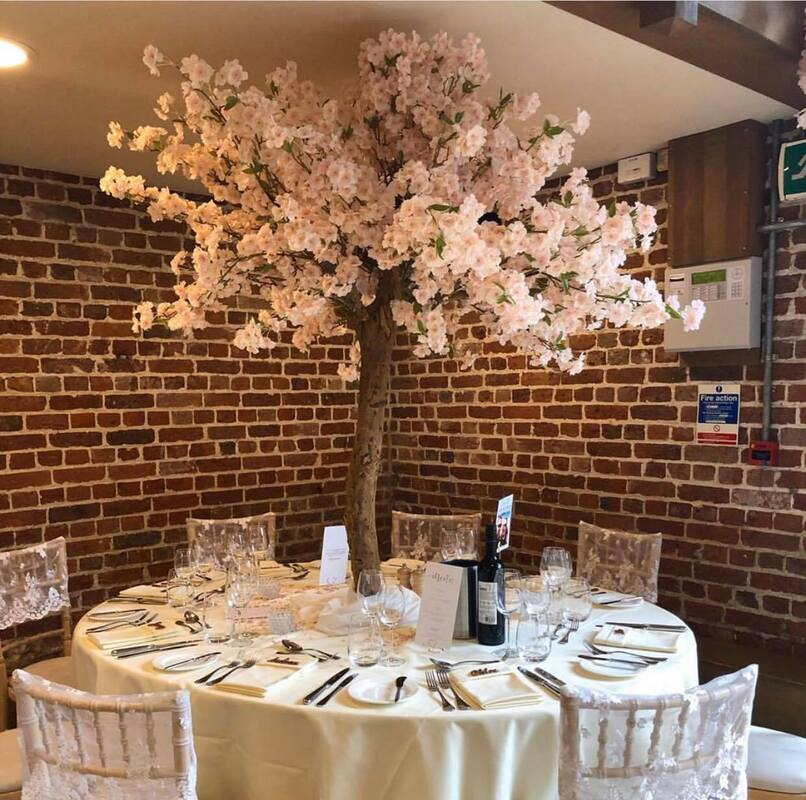 blush blossom tree hire in london and essex